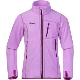 Bergans Runde Jacket Girls Peony/Plum/Pink Rose
